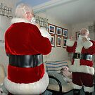 If Higbee thinks I'm working one minute past 9:00, he can kiss my foot. Ho ho ho  by Lanis Rossi