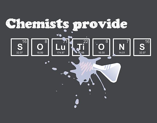 Chemists Provide Solutions by fishbiscuit