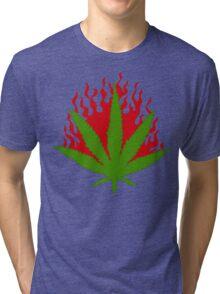 Burn Some Marijuana Tri-blend T-Shirt