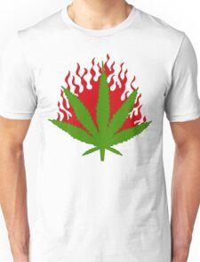 Burn Some Marijuana Unisex T-Shirt