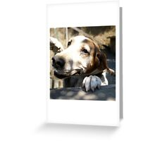 Old in Body But Young in Spirit Greeting Card