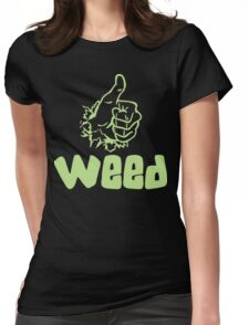 Like Weed Womens Fitted T-Shirt