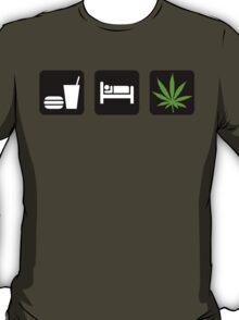 Eat Sleep Smoke Marijuana T-Shirt