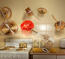 Kitchen Chaos by Mark Richards