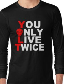 Red Hood: You Only Live Twice Long Sleeve T-Shirt