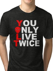 Red Hood: You Only Live Twice Tri-blend T-Shirt