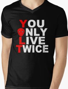 Red Hood: You Only Live Twice Mens V-Neck T-Shirt