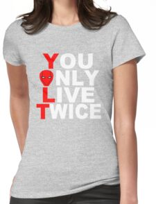 Red Hood: You Only Live Twice Womens Fitted T-Shirt