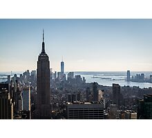 NYC Skyline Photographic Print