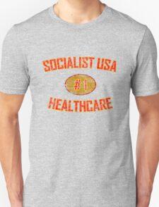 SOCIALIST USA HEALTHCARE #1 T-Shirt