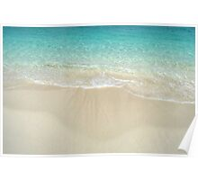 Beach in Paradise island, The Bahamas Poster