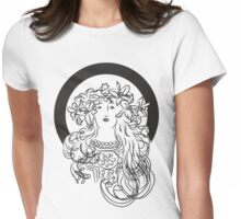 Alphonse Mucha Inspiration Womens Fitted T-Shirt