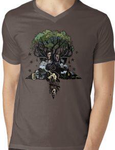 True Detective - The Tree Mens V-Neck T-Shirt