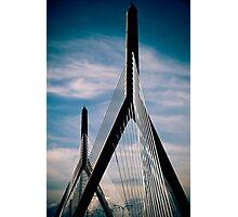 Boston Bridge Photographic Print