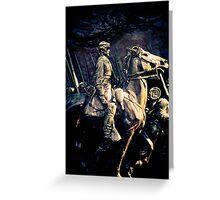 Civil War Statue Greeting Card