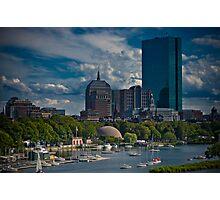 Boston Back Bay Photographic Print