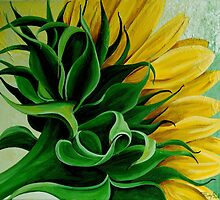 Sunny Sunflower by Tiffany Budd