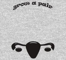 Grow A Pair Kids Tee