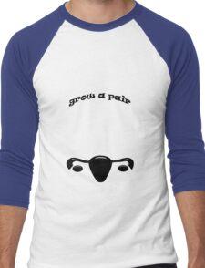 Grow A Pair Men's Baseball ¾ T-Shirt