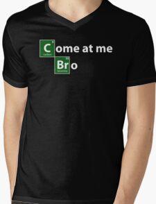 Breaking Bad come at me bro Mens V-Neck T-Shirt