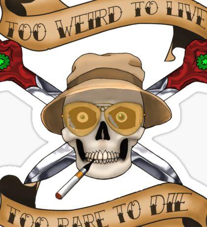 Gonzo Pirate Sticker