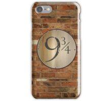 9 3/4  iPhone Case/Skin