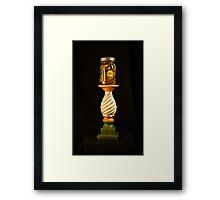 Pickles on a Pedestal Framed Print