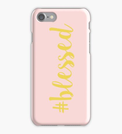 #blessed iPhone Case/Skin