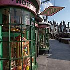 Honeydukes Shop Windows 3 by Serdd