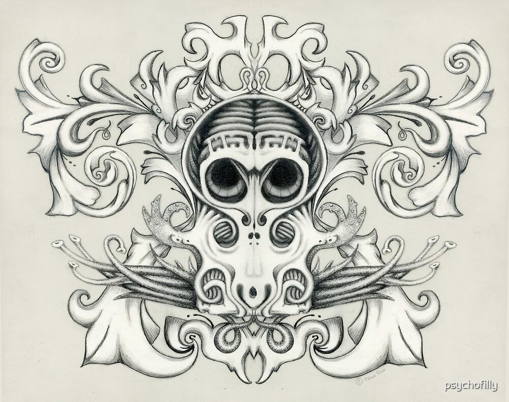 Sugar Squid by psychofilly