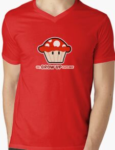 Oh, GROW UP, Cupcake! parody Mens V-Neck T-Shirt