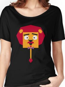 Sophisticated Lion Women's Relaxed Fit T-Shirt