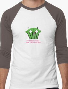 TO MAKE ROOM FOR THE CUPCAKE parody Men's Baseball ¾ T-Shirt