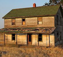 Sunset on the Homestead by Jim  Egner