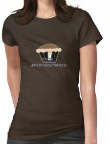 SCRUFFY LOOKIN' CUPCAKE parody Womens Fitted T-Shirt