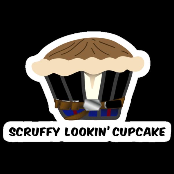 SCRUFFY LOOKIN' CUPCAKE parody by M. E. GOBER