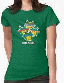 NINJA CUPCAKES parody Womens Fitted T-Shirt