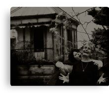 oh the horror! Canvas Print