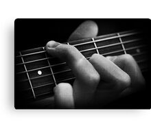 The Classical Guitarist Canvas Print