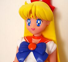 Sailor Venus Doll iPhone Case by bunnyparadise