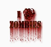 I Biohazard Zombies T-Shirt