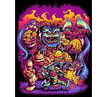 GHOSTS 'N' GOBLINS Photographic Print