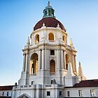 Pasadena City Hall at Sunset. by Graham Gilmore