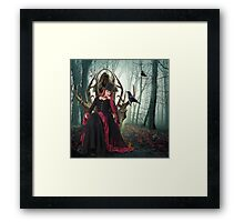 Empress of the Wildwoods Framed Print