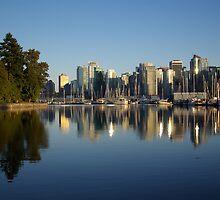 Vancouver Skyline by Sheri Bawtinheimer