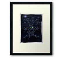 root down Framed Print