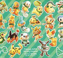 Pokemon Super Mystery Dungeon! by eledora