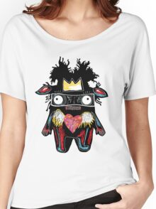 Basquiat Monster Women's Relaxed Fit T-Shirt