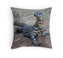 Go-anna! Throw Pillow