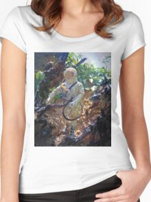 ~Astronaut Joe~ Women's Fitted Scoop T-Shirt
